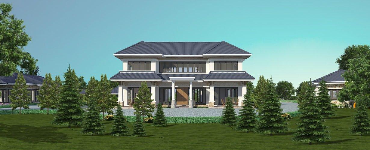 Thiết kế nhà, biệt thự đẹp - Sang trọng - Đẳng cấp - Giá rẻ