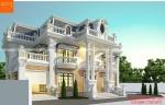 Tư vấn thiết kế mẫu nhà 2 tầng 1 tum nổi bật với mái mansard – BT192