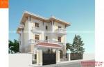 Thiết kế nhà đẹp 3 tầng phong cách tân cổ điển