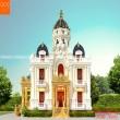 Biệt thự cổ điển phong cách Châu Âu