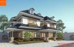 Thiết kế biệt thự mái thái 2 tầng ở Hà Nội