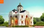 Biệt thự 2 tầng cổ điển phong cách châu âu