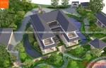 Mẫu biệt thự vườn 2 tầng mái thái