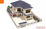 Tổng hợp những mẫu nhà 2 tầng mái thái ở nông thôn