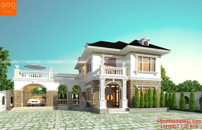 Tổng hợp những mẫu nhà đẹp 2 tầng 2018