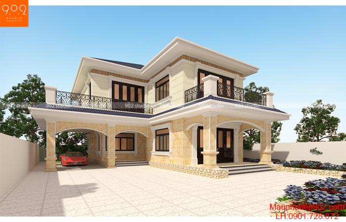 10 mẫu nhà 2 tầng nông thôn chỉ từ vài trăm triệu