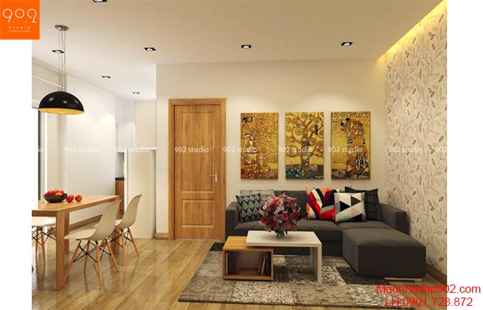 10 mẫu phòng khách nhỏ  nhưng đẹp và ấm áp vô cùng