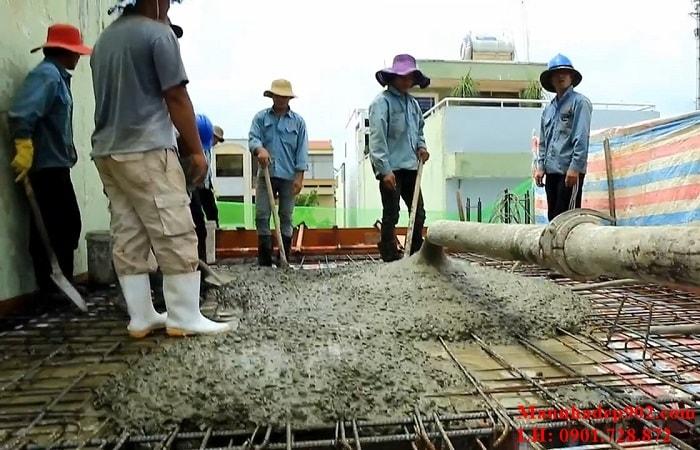 Bí mật trong xây dựng: 1 khối bê tông đổ được bao nhiêu mét vuông