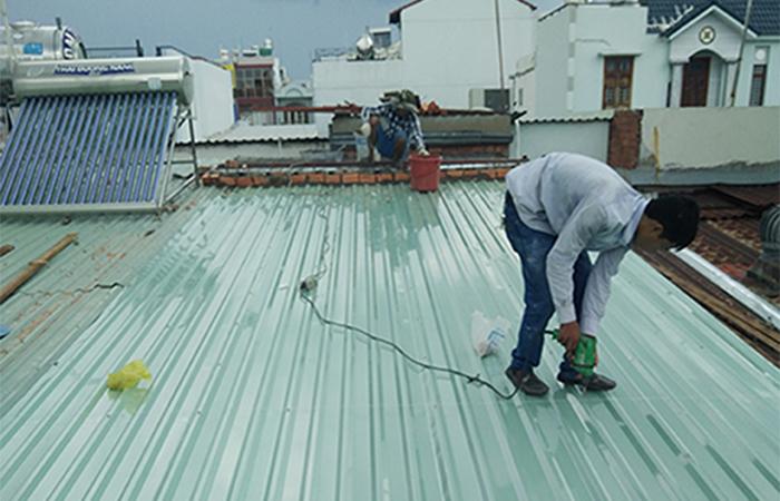 Phương pháp chống thấm cho từng loại mái