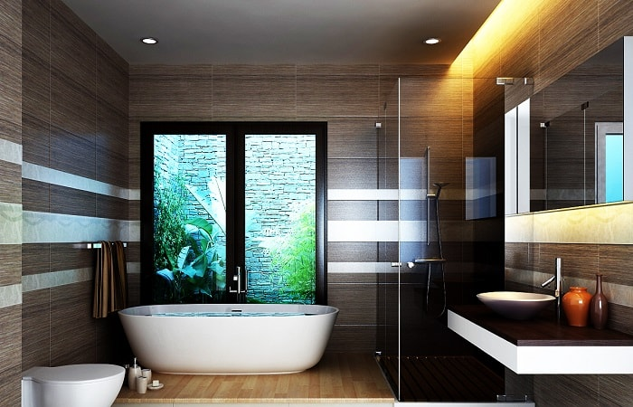 Lựa chọn kích thước nhà tắm tiêu chuẩn