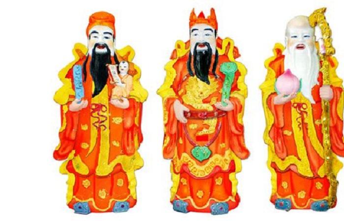 Lưu ý khi đặt tượng Phúc - Lộc - Thọ