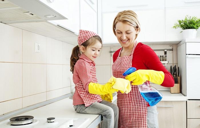 Mẹo nhỏ để ngôi nhà nhỏ luôn sạch bóng