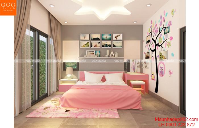 Một số màu được khuyên nên dùng trong phòng ngủ