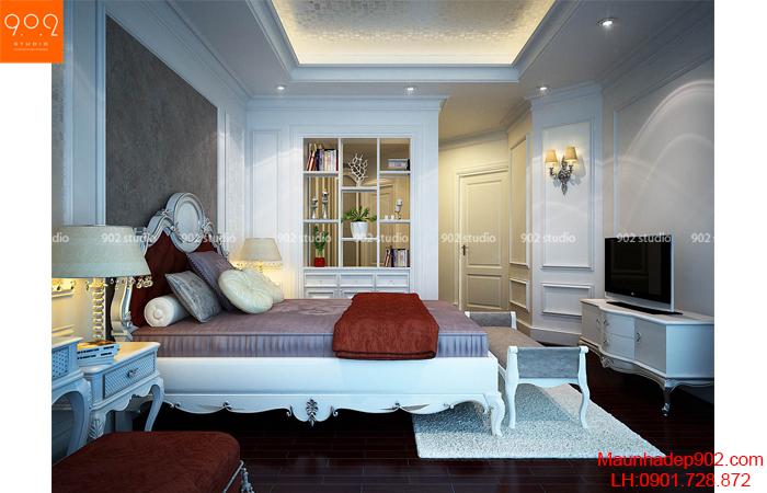 Phong thủy phòng ngủ giúp vợ chồng êm ấm, hạnh phúc