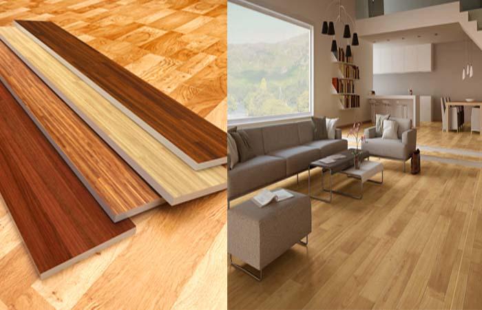 Sàn nhựa giả gỗ giải pháp tuyệt vời cho không gian nội thất