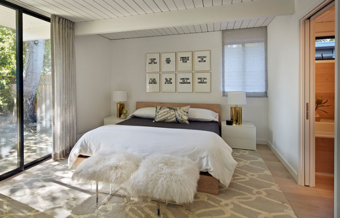 Thiết kế phòng ngủ theo phong cách Midcentury