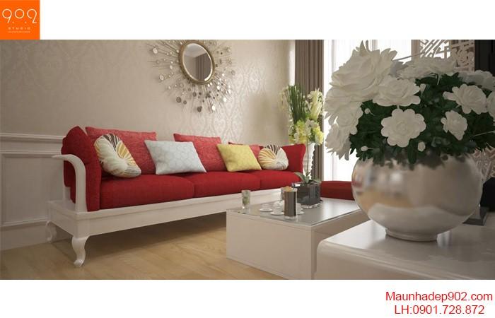 Trang trí phòng khách thêm xinh và ấm áp với gối tựa bằng len