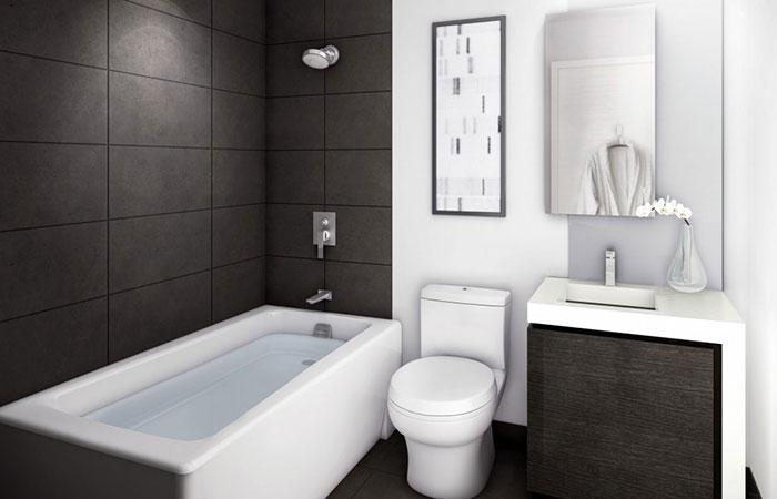 6 ý tưởng phòng tắm trang nhã cho không gian nhỏ