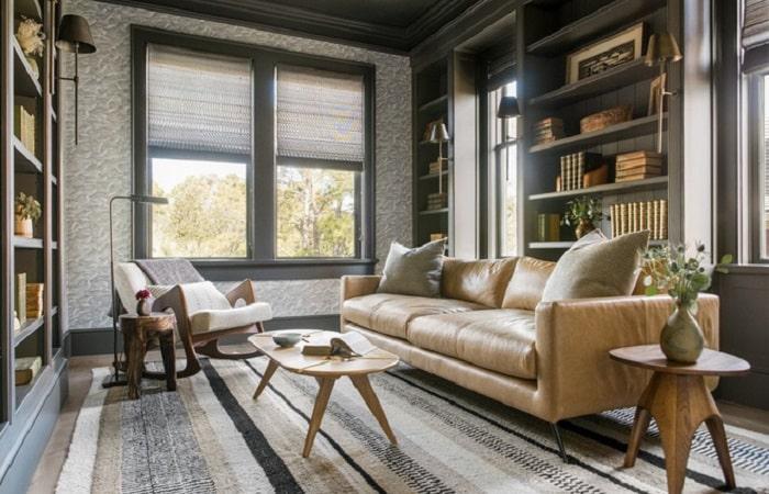 Truyền thống và hiện đại - sự kết hợp hoàn hảo cho phòng khách ấn tượng