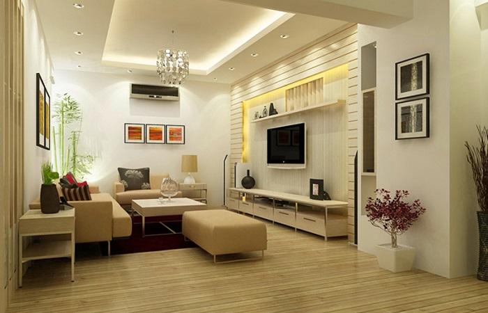 Tư vấn thiết kế nội thất phòng khách hiện đại dưới 50 triệu đồng